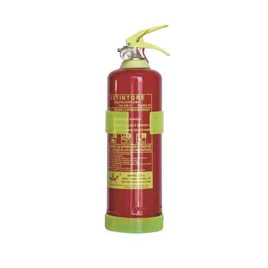 Estintore a polvere 2 kg EN3/7 RAIMA P2