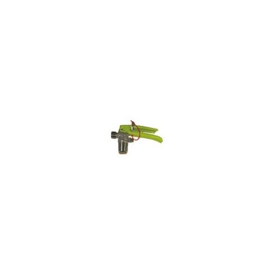 Valvola CO2 gialla cilindrica