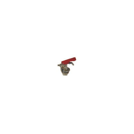 Valvola per estintore a polvere rossa